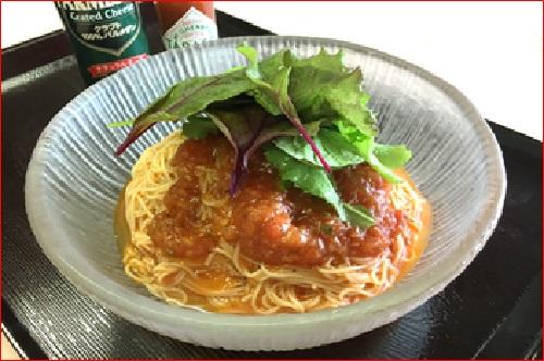 冷製トマトスパゲティー